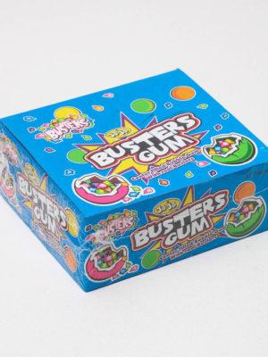 Жевательная резинка JOJO Busters Gum с начинкой 20 г Арт.: 4849826 Мин. заказ: 30 Вкус: Ассорти С жидким центром: Да