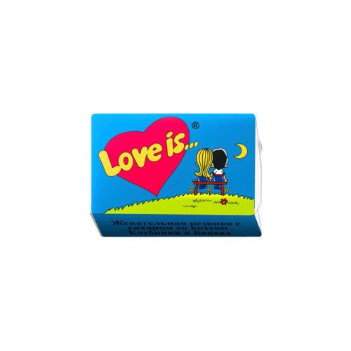 Жевательная резинка Love is, банан и клубника, 4,2 г Арт.: 1367108 Мин. заказ: 100 Вкус: Клубника С жидким центром: Нет Вкус, знакомый с детства