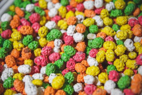 Арахис в цветной сахарной глазури 1 кг