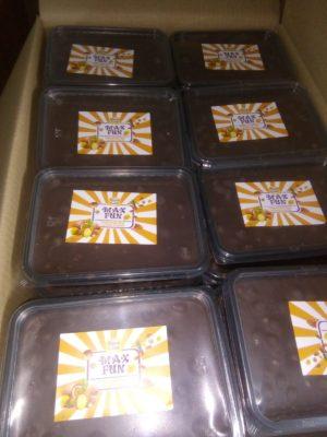 MAX FUN шоколад(тропический микс с цельным фундуком) 1 кг