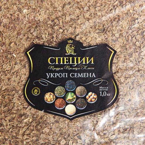 УКРОП СЕМЕНА 1 кг