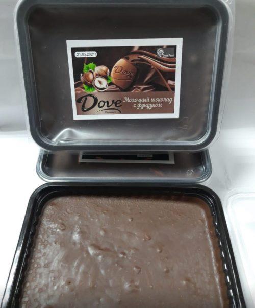 Дав (аналог) молочный шоколад с фундуком 1 кг